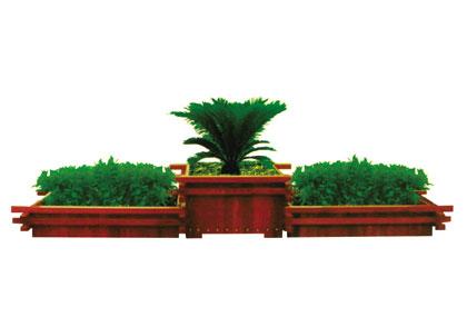 简单防腐木构的构件连接方式