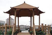 环保木凉亭的生产和安装技术